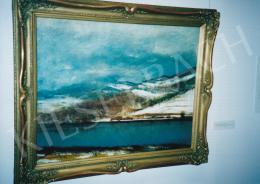 Mednyánszky László - Tátrai téli táj, 1910 körül, olaj, vászon, 76x96 cm, Jelezve jobbra lent: Mednyánszky, Fotó: Kieselbach Tamás