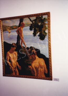 Schadl János - Schadl János kép a Deák gyűjtemény kiállításon