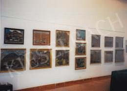 Nagy István - Nagy István kiállítás enteriőr fotói 1999. május 28. - 1999. május 31. között a Kieselbach Galériában. Fotó: Kieselbach Tamás