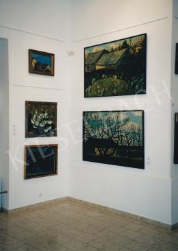 Nagy István - Nagy István festményei a Modern magyar festészet legszebb képei kiállításon (2003. november 21. - 2003. november 28.) Fotó: Kieselbach Tamás