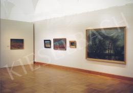 Mednyánszky László - A Magyar Nemzeti Galéria Mednyánszky Kiállításának (2003. október 14.- 2004. február 8.) enteriőr képei Fotó: Kieselbach Tamás