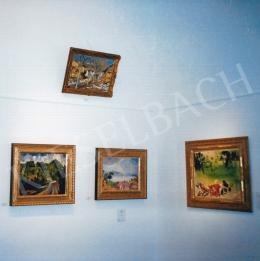 Vaszary János - Parkban (62,5x80 cm Olaj, vászon) Jelezve jobbra lent: Vaszary J. A mű a 2002-es 20. Téli Aukción Fotó: Kieselbach Tamás