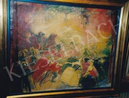 Vaszary, János - Pompadour, 1925 (60x76 cm Oil on canvas) Signed upper left: Vaszary J. Photo: Tamás Kieselbach