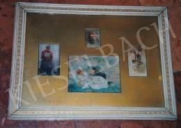 Karlovszky Bertalan - Fiatal hölgy  (10.5x11 cm Olaj, fa) Jelezve jobbra lent: Karlovszky Fotó: Kieselbach Tamás