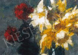 Koszta, József - József Koszta; Flower Still-Life; oil on canvas; 50x40; Photo: Tamás Kieselbach