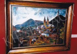 Aba-Novák, Vilmos - Felsőbánya; 1925; oil on canvas; 68,5x94 cm; Signed lower right: ABA-NOVÁK Photo: Tamás Kieselbach