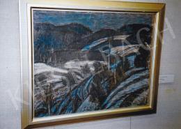 Nagy István - Téli táj; Fotó: Kieselbach Tamás