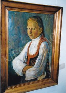 Nagy István - Székely leányka; 1913; Fotó: Kieselbach Tamás