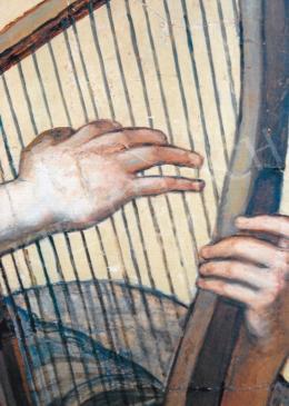 Lotz Károly - Múzsák (A zene allegóriája) részletfotók; Fotó: Kieselbach Tamás