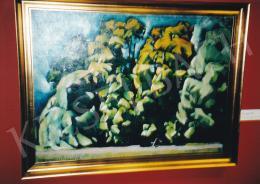 Aba-Novák, Vilmos - Park, around 1921; oil on canvas; 74x100 cm; Without Signing; Photo: Tamás Kieselbach