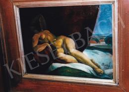 Patkó Károly - Fekvő akt, 1921; 41.5x51 cm; Olaj, karton; Jelezve balra lent: Patkó 1921; Fotó: Kieselbach Tamás