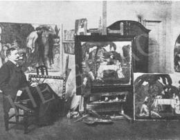 Iványi Grünwald Béla - Iványi Grünwald Béla műterme
