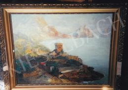 Háry Gyula - Capri; Jelezve jobbra lent: Capri Háry Gyula; Fotó: Kieselbach Tamás