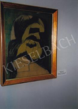 Vajda Lajos - Zöld maszk; Fotó: Kieselbach Tamás