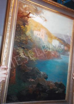 Háry Gyula - Abbázia; 100x75; olaj, vászon; Jelezve balra lent: Abbázia Háry; Fotó: Kieselbach Tamás