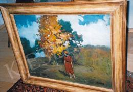 Thorma János - Ősz Nagybányán; 60x78; olaj, vászon; Jelezve jobbra lent: Thorma; Fotó: Kieselbach Tamás