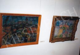 Kmetty János - Szentendre; olaj, vászon; Jelezve jobbra lent: Kmetty; Fotó: Kieselbach Tamás