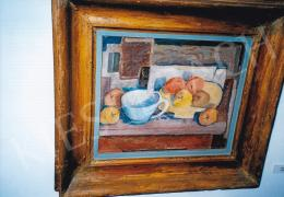 Kmetty János - Asztali csendélet; olaj, vászon; Jelezve jobbra lent: Kmetty; Fotó: Kieselbach Tamás