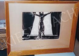 Vaszary János - Bal oldali kép: Virágcsendélet; Jelezve balra fent: Vaszary J.; Jobb oldali kép: Figurális kompozíció; Jelezve oldalt balra: Vaszary J.; Fotó: Kieselbach Tamás