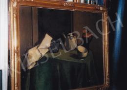 Orbán Dezső - Asztali csendélet; olaj, vászon; Fotó: Kieselbach Tamás