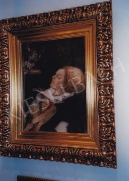 Csók István - Báthory Erzsébet; olaj, vászon; Jelezve balra lent: Csók I.; Fotó: Kieselbach Tamás