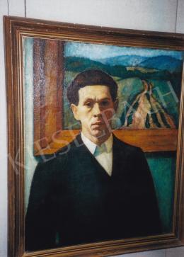 Czigány Dezső - Önarckép; olaj, vászon; Jelezve a képen: Czigány; Fotó: Kieselbach Tamás