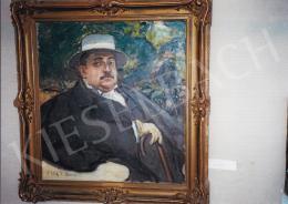 Csók István - Wlassics Tibor arcképe, 1911; olaj, vászon; Jelezve balra lent: Csók I. Bpest 911; Fotó: Kieselbach Tamás