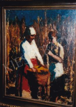 Koszta, József - Working on the Field, 1915; oil on canvas; 82x74; Signed lower right: Koszta; Photo: Tamás Kieselbach