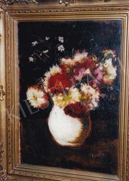 Koszta, József - Flower Still-Life; oil on canvas; Jelezve jobbra lent: Koszta; Photo: Tamás Kieselbach