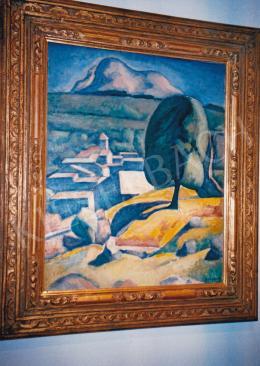Czigány Dezső - Provence; 1926-1930 között; 82x66; olaj, vászon; Jelezve jobbra lent: Czigány; Fotó: Kieselbach Tamás
