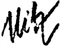 Uitz Béla aláírása