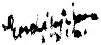 Erdélyi Ferenc aláírása