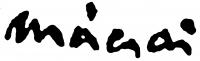 Mácsai István aláírása