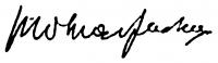 Molnár Farkas aláírása
