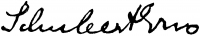 Schubert, Ernő Signature