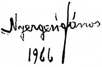 Nyergesi János aláírása