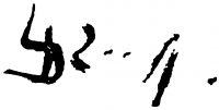 Lóránt János Demeter aláírása