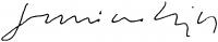 Luzsicza Lajos aláírása