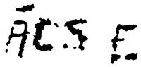 Ács Ferenc aláírása