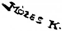 Mózes Katalin aláírása