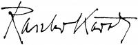 Raszler Károly aláírása