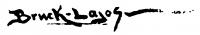 Bruck, Lajos Signature