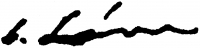 Lám Ilona aláírása