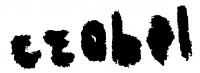 Czóbel Béla aláírása