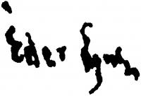 Éder Gyula aláírása