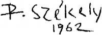 Székely Péter aláírása