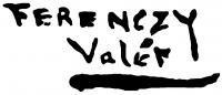 Ferenczy Valér aláírása