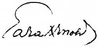 Gara Arnold aláírása