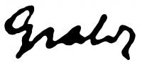 Gráber Margit aláírása