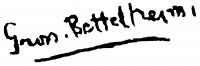 Gross-Bettelheim Jolán aláírása